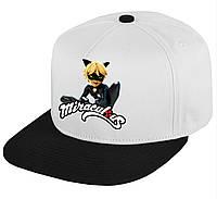 """Кепка """"Супер Кот"""" (крутая бейсболка) С любым героем мультфильма Леди Баг и Супер-Кот"""