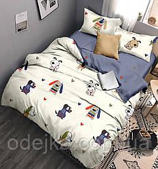 Детский комплект постельного белья 150*220 хлопок (14094) TM KRISPOL Украина