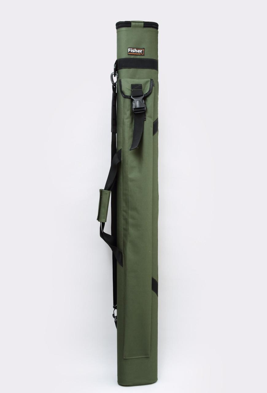 Двойной тубус для удилищ Fisher 150 см *80 мм