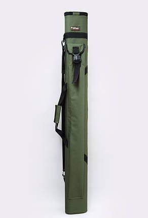 Двойной тубус для удилищ Fisher 150 см *80 мм, фото 2