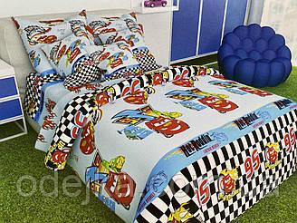 Детский комплект постельного белья 150*220 хлопок (14139) TM KRISPOL Украина