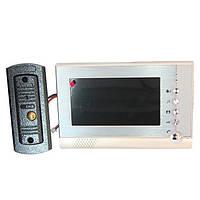 Домофон видеозвонок с картой памяти Intercom V80P-M1 Домофон в Украине