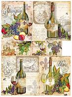 Декупажная карта Вино 1 Art