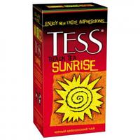 Чай Tess Sunrise (черный крупнолистовой в пакетиках) 25х2 г.