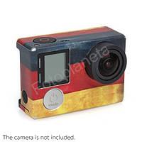 """Наклейка  на камеру """"Немецкий флаг"""""""