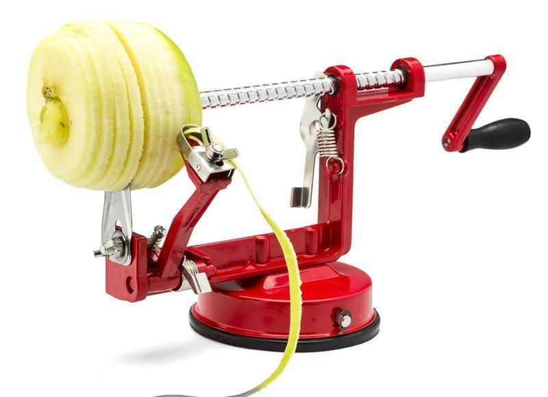 Яблокочистка Core Slice Peel | яблокорезка Спайз Пил | прибор для чистки и нарезки яблок