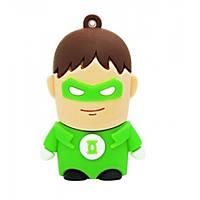 """USB флешка """"Зелений ліхтар - Green Lantern"""" 16Gb"""