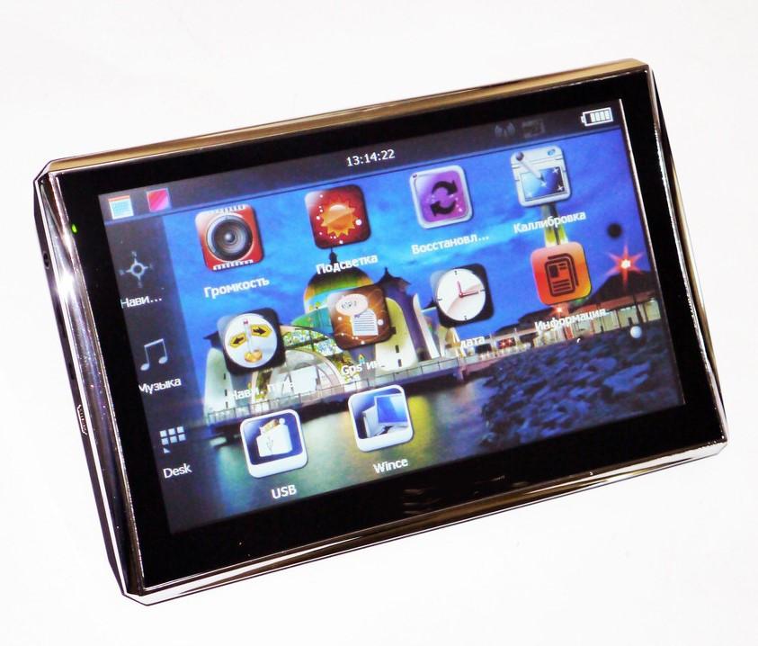 Автомобильный GPS навигатор android 716 (512 ОЗУ/8 ПЗУ) 7 дюймов | автонавигатор