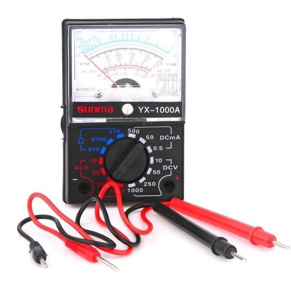 Высокочувуствительный универсальный портативный мультиметр YX 1000A | цифровой измеритель емкости