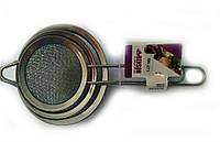 Набор сеточек для чая (8см+10см+12см) Benson BN-271 | сеточка для чая | маленькое сито | ситечко для заваривания чая, фото 1