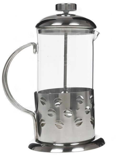 Френч-пресс для заваривания Benson BN-173 (1000 мл) нержавеющая сталь + стекло   заварник   заварочный чайник