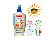 Защитный ультранежный спрей от загара для сверхчувствительной детской кожи с Д-пантенолом и витамином Е 200 мл