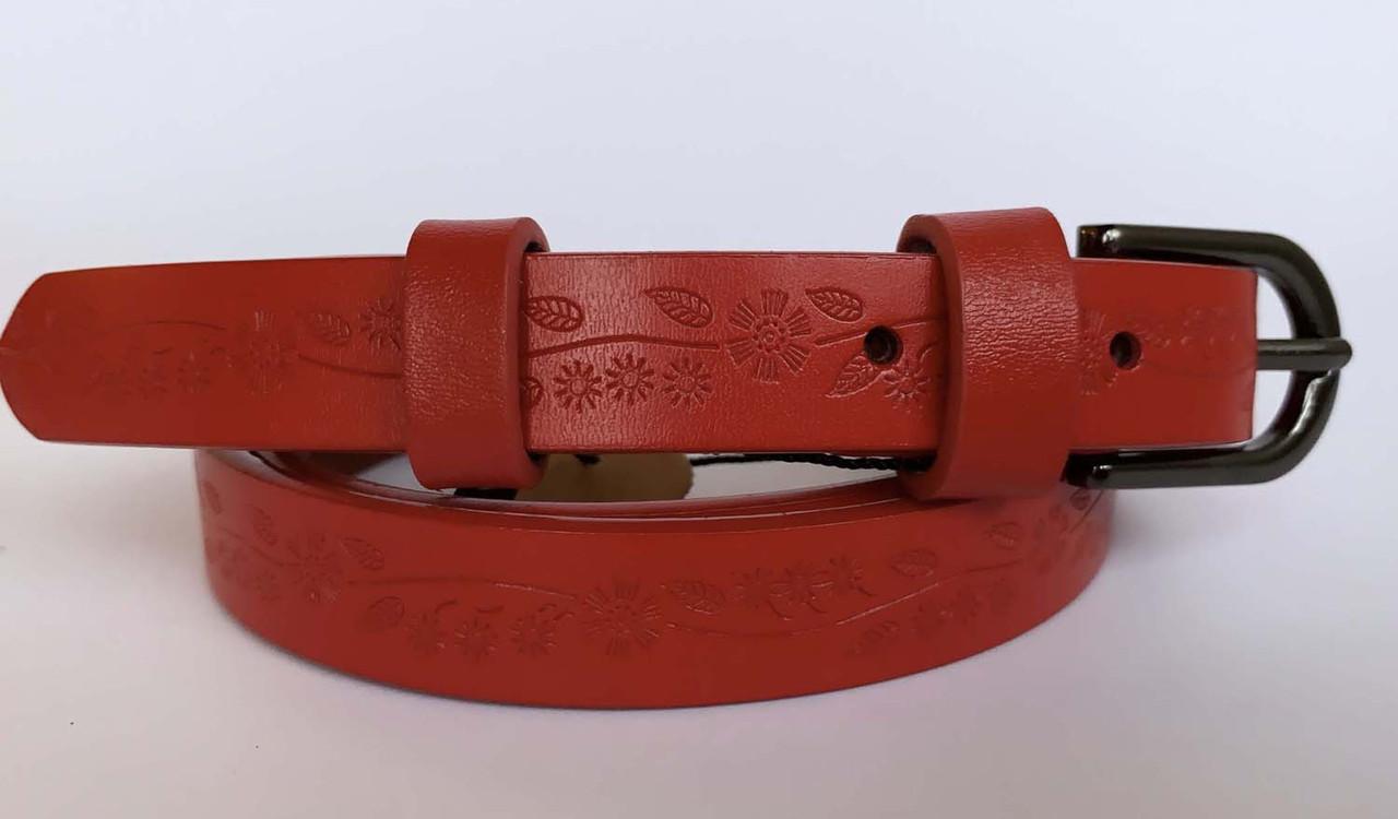 Пояс жіночий червоного кольору, 120/150 грн (ціна за 1шт.+30 грн)