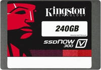 "SSD накопитель Kingston SSDNow V300 240GB 2.5"" SATA III MLC Notebook Kit (SV300S3N7A/240G)"