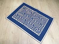 Турецький килимок для ванної розмір 50х80 з бавовни. 5080-22