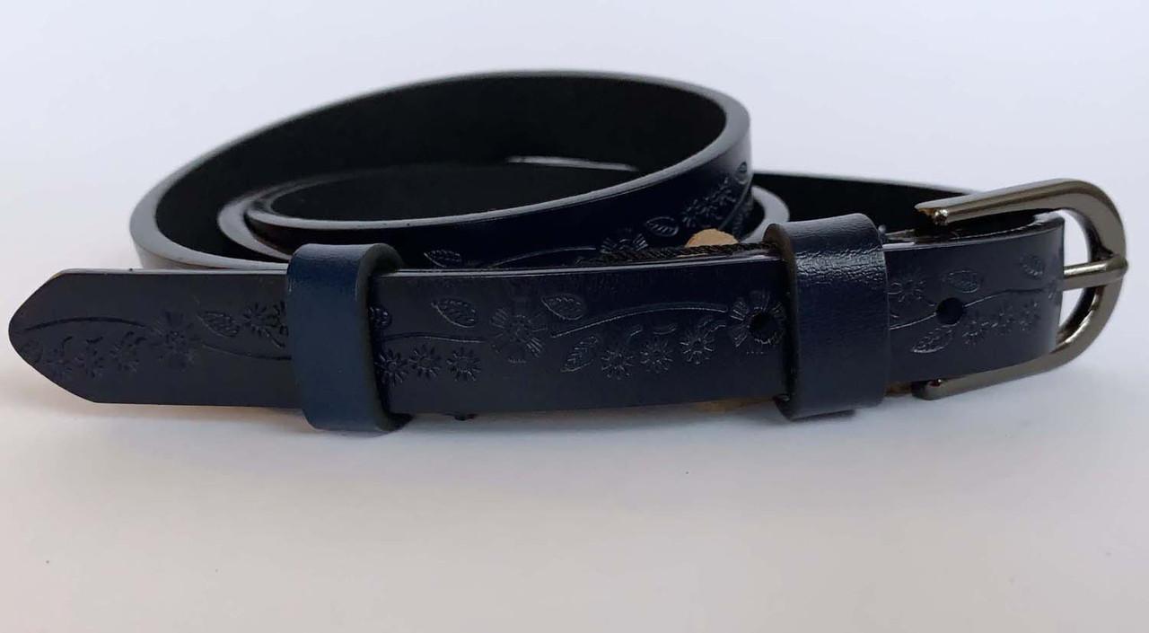 Ремінь жіночий, колір синій, 120/150 грн (ціна за 1шт.+30 грн)
