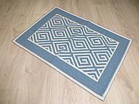 Турецький килимок для ванної розмір 50х80 з бавовни. 5080-23
