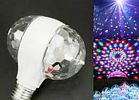 Светомузыка диско шар Magic Ball 2015-1 | дискошар | светодиодная вращающаяся дисколампа