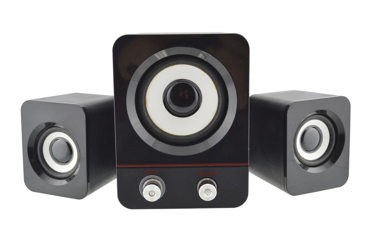 Компьютерные колонки акустика H1 BASS USB   профессиональные акустические мощные колонки   музыкальная колонка