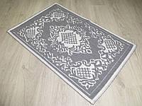 Турецький килимок для ванної розмір 50х80 з бавовни. 5080-25