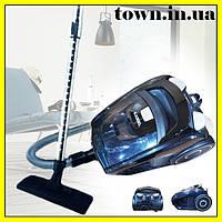 Пылесос Kassel 5078B, Колбовый 3л ( 3000W ) Без мешка, для сухой уборки, бытовой, для дома