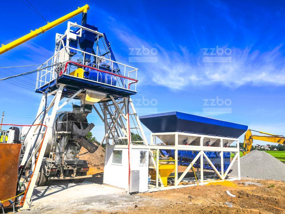 Бетон завод 45 смесь песка и щебня для бетона купить