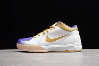 Кроссовки мужские Nike Zoom Kobe 4 Protro / ZKM-007 (Реплика)
