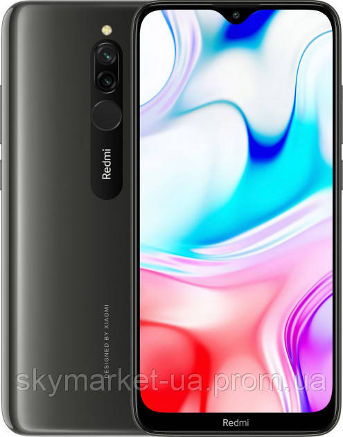 Смартфон Xiaomi Redmi 8 3/32GB black (Global version)