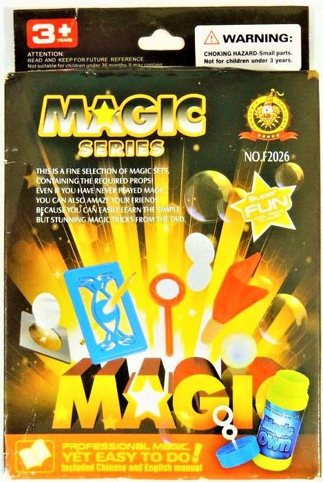 """Игровой набор F 2026 """"MAGIC""""   магия для детей   фокусы для детей (3 вида)"""
