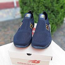 Мужские летние кроссовки Нью Беленс чёрные с оранжевым 42, 43, 44, фото 3