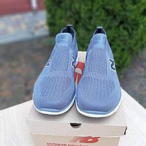 Мужские летние кроссовки Нью Беленс серые 42, 44, 45,, фото 3
