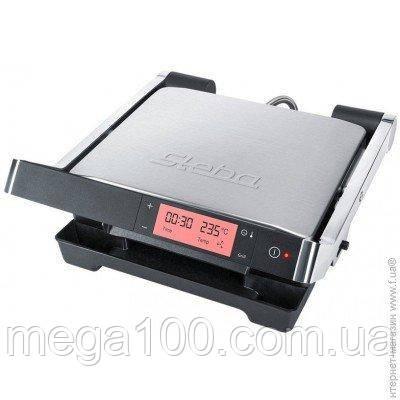 Гриль электрический прижимной steba fg 100