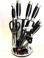 Набор ножей из нержавеющей стали на подставке Benson BN-401 (8 предметов) | кухонный нож | ножи Германия, фото 1