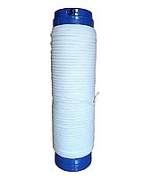 Резинка для масок 3 мм белая намотка 50 м