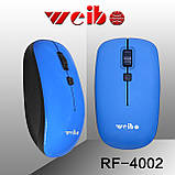 Беспроводная мышь Weibo RF-4002, фото 3