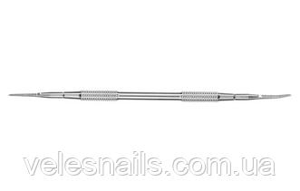 Лопатка педикюрная EXPERT 60 TYPE 3 (пилка пряма+пилка з загнутим кінцем)