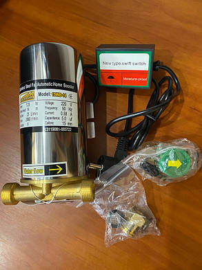 Насос для повышения давления в системе водоснабжения 15WB - 14 Euroaqua, фото 2