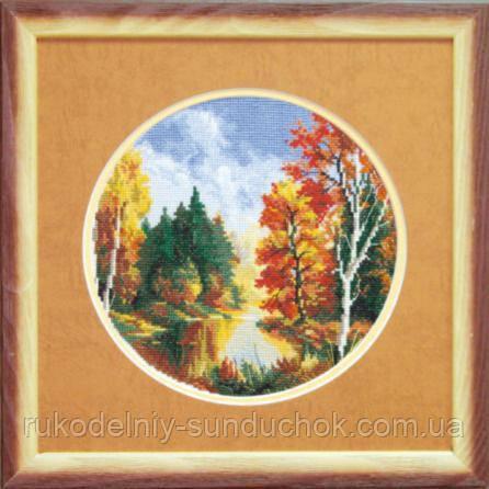 """Набор для вышивки крестиком Чарівна Мить А-067 """"Осень"""""""