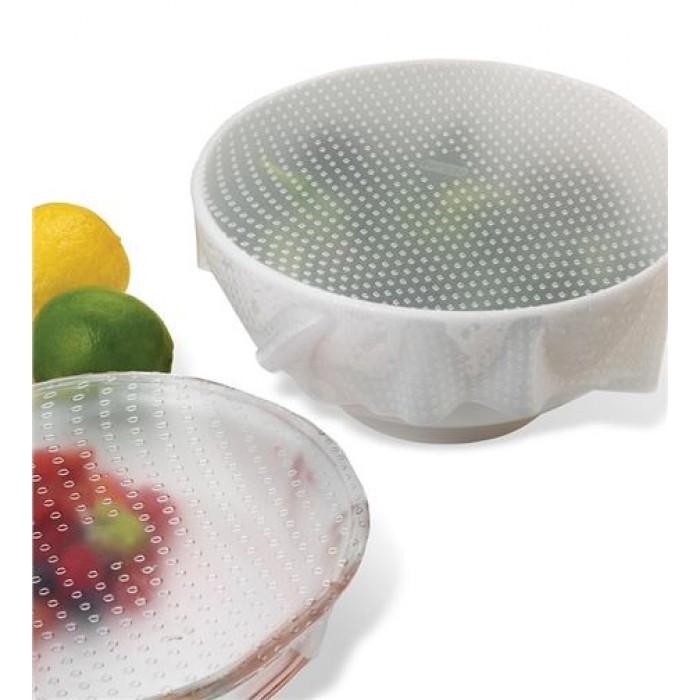 Набор силиконовых пленок для хранения продуктов Stretch and Fresh