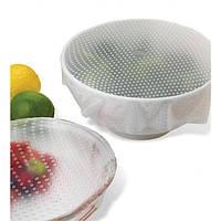 Набор силиконовых пленок для хранения продуктов Stretch and Fresh, фото 1