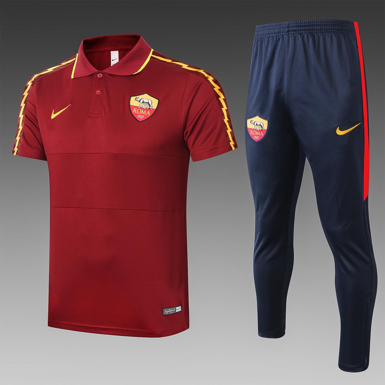 Летний тренировочный костюм Рома 2020-21