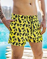 Шорты мужские пляжные Ananas х yellow / ТОП качества, фото 1