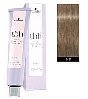 Краска для волос 8-51 C Schwarzkopf TBH Светлый блондин золотистый пепельный 60 мл