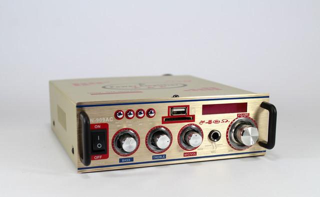 Усилитель мощности звука UKC SN-909AC | компактный усилитель звука | усилитель мощности