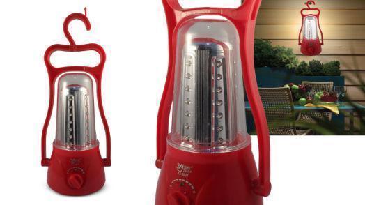 Аккумуляторный светодиодный фонарь лампа для кемпинга YJ 5827   кемпинговый фонарик
