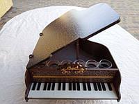 Міні-бар Рояль із чарками Коричневий (В-022)