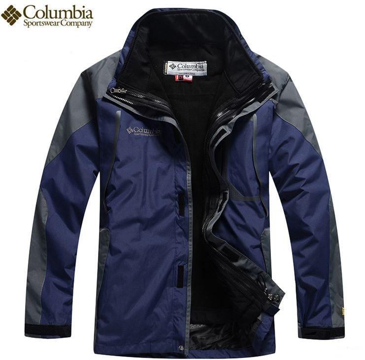 Мужская куртка COLUMBIA TITANIUM Omni-Tech 2 в 1! Верхняя одежда. Высокое  качество. Мужские куртки. Код  КЕ128 0fb2771534f27