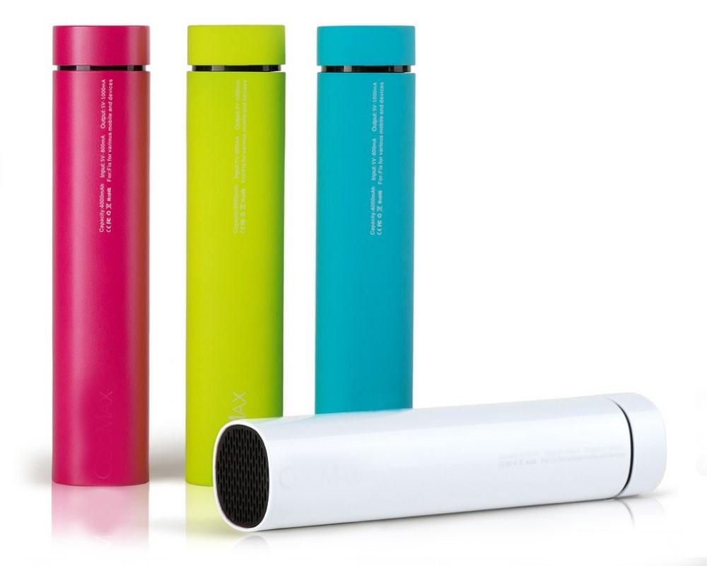 Колонка-зарядка Power Bank 3 в 1 Power Jam белая   внешний аккумулятор   портативная зарядка с колонкой