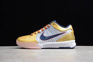 Кроссовки мужские Nike Zoom Kobe 4 Protro / ZKM-018 (Реплика)