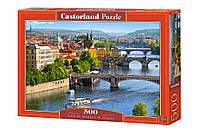 Пазлы Прага, Чехия,500 элементов Castorland